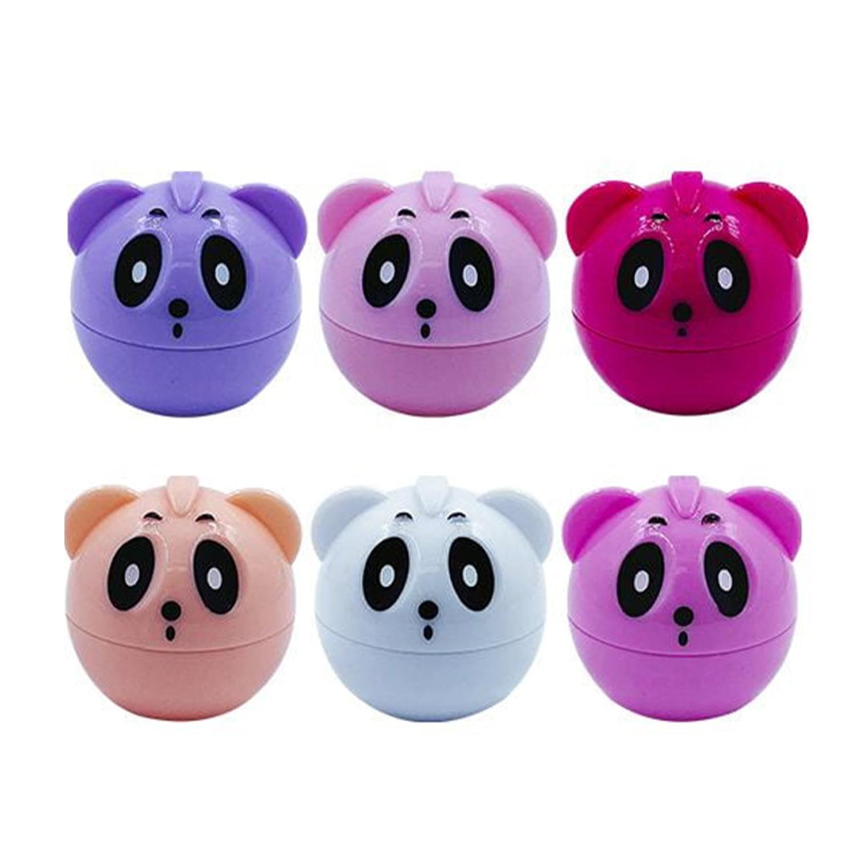 Kit 6 unidades Lip Balm Hidratante Labial Panda BFashion