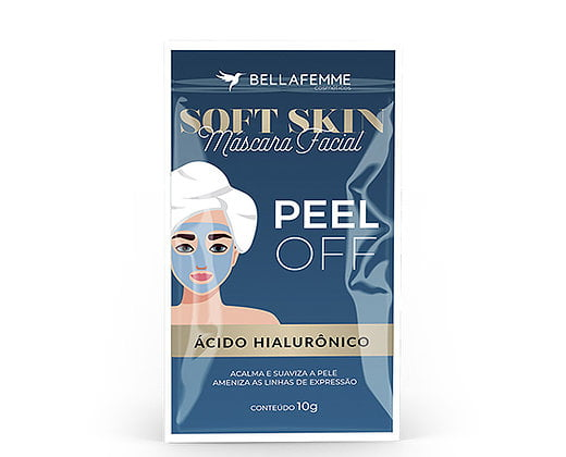 Máscara Peel Off Ácido Hialurônico