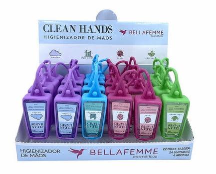 Álcool em Gel Com Capinha - Clean Hands