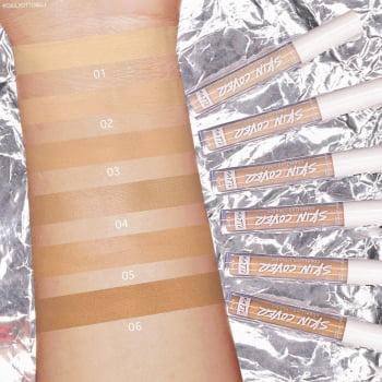 Corretivo Líquido Matte Tons Claros – Skin Cover