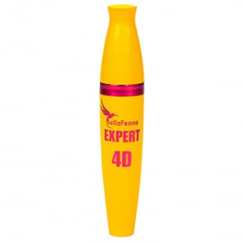 Rímel 4D Embalagem Amarela