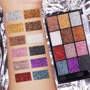 Paleta de Sombra Glitter